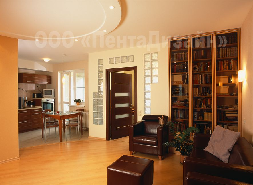 Дизайн 2 х комнатной квартиры студии: перепланировка