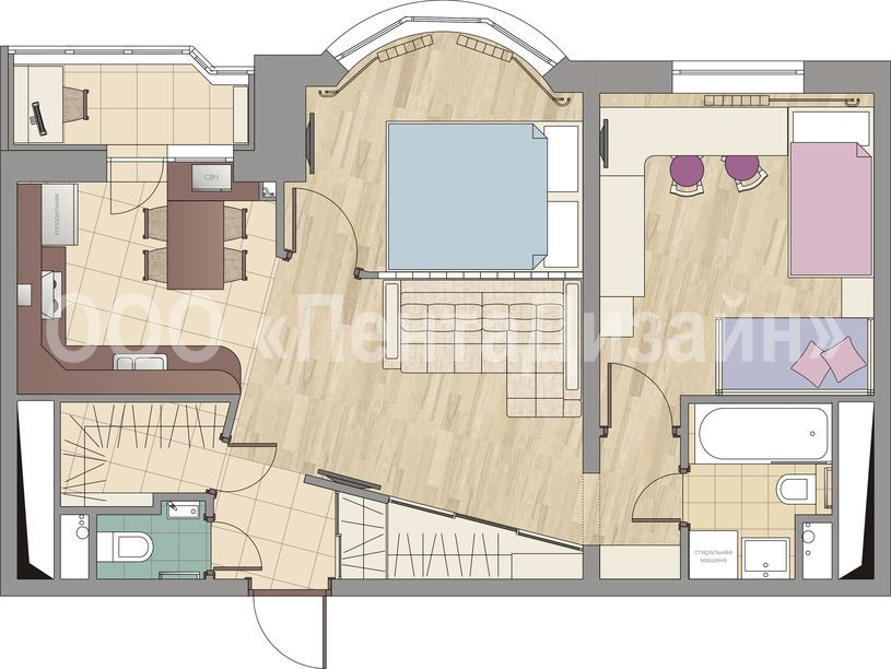 Ремонт квартир в москве: дизайн проект и полная отделка квар.